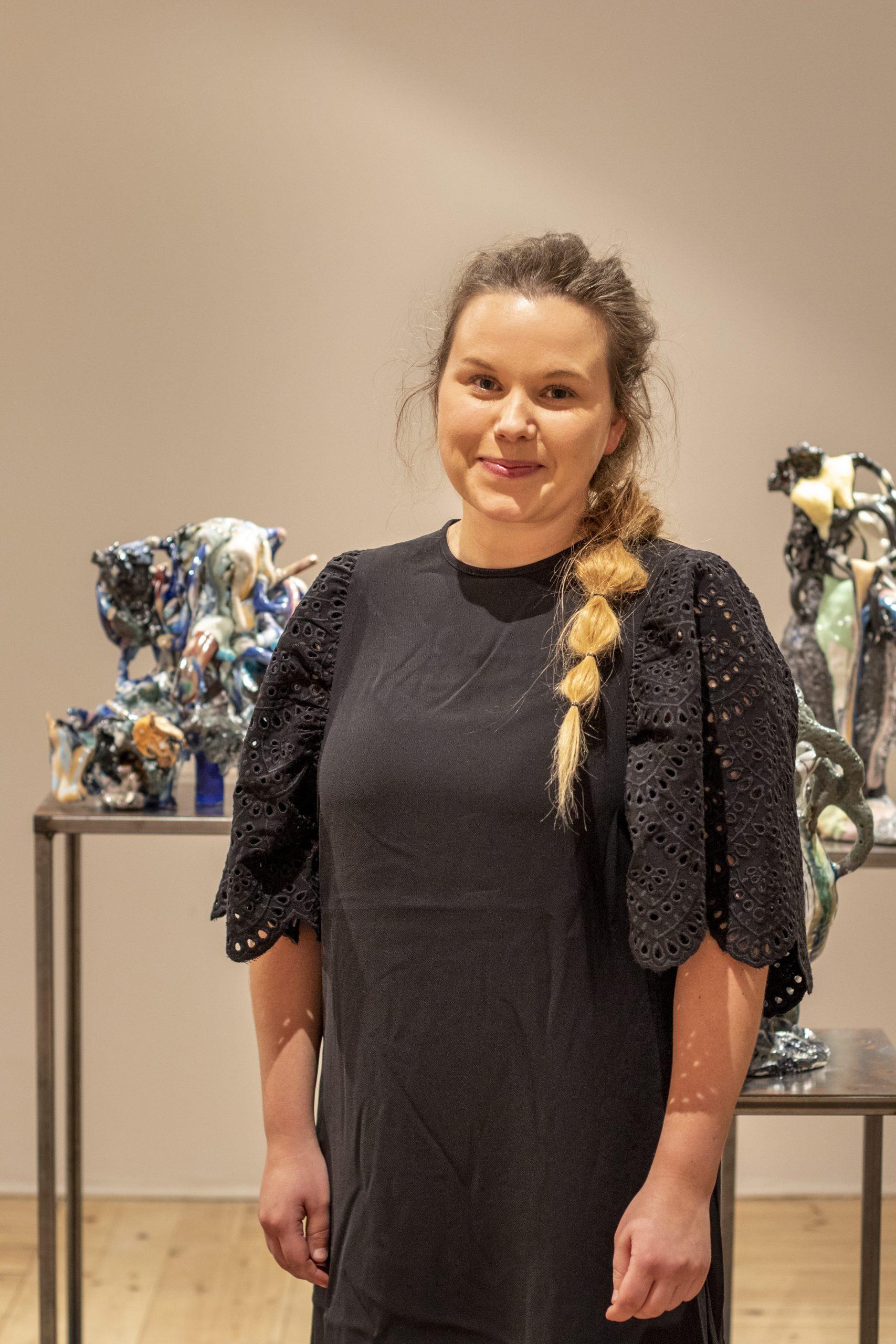 Porträttfoto Hanna Björkdahl, stipendiat 2019