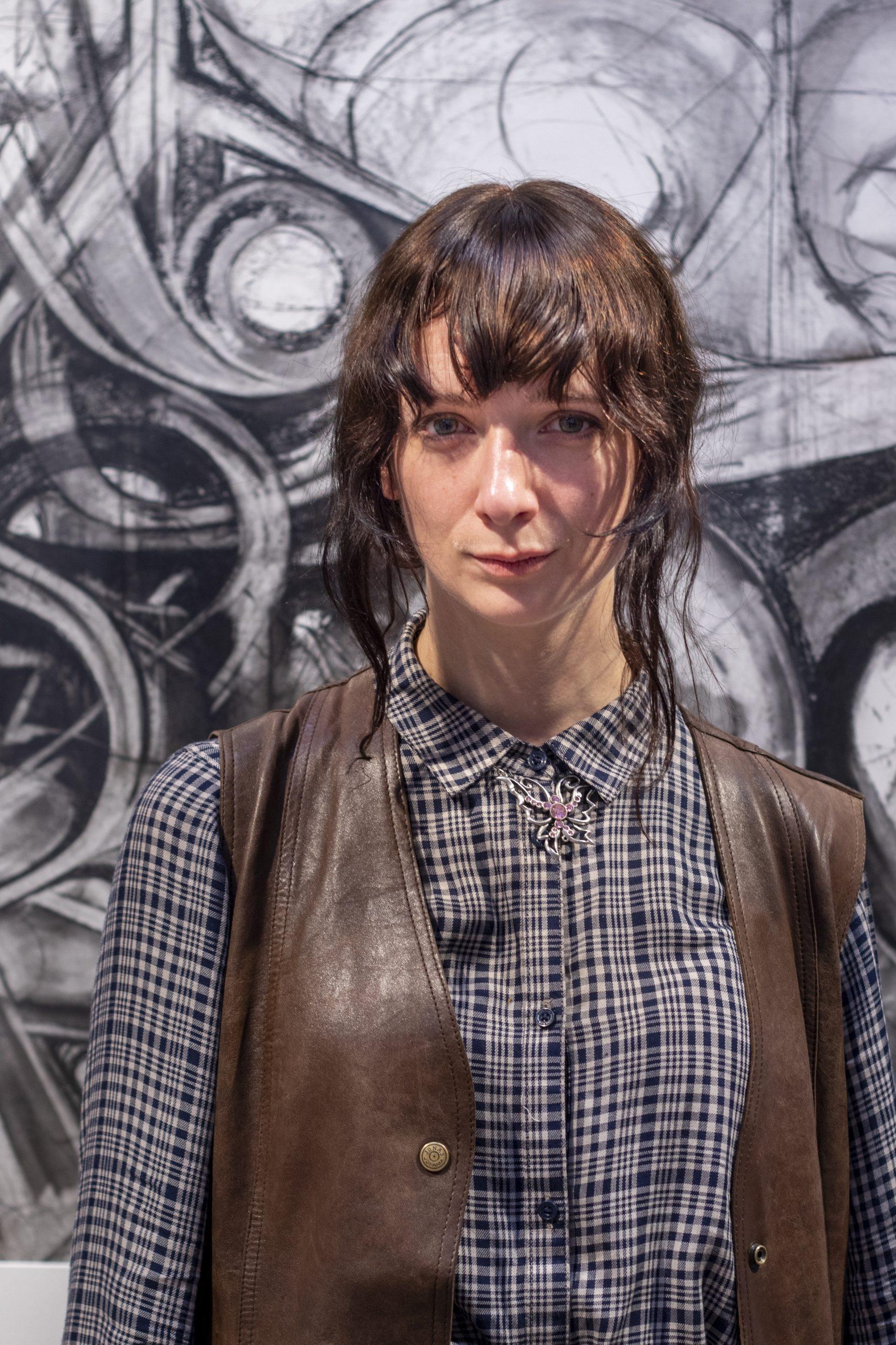 Porträttfoto Viola Florin, stipendiat 2019